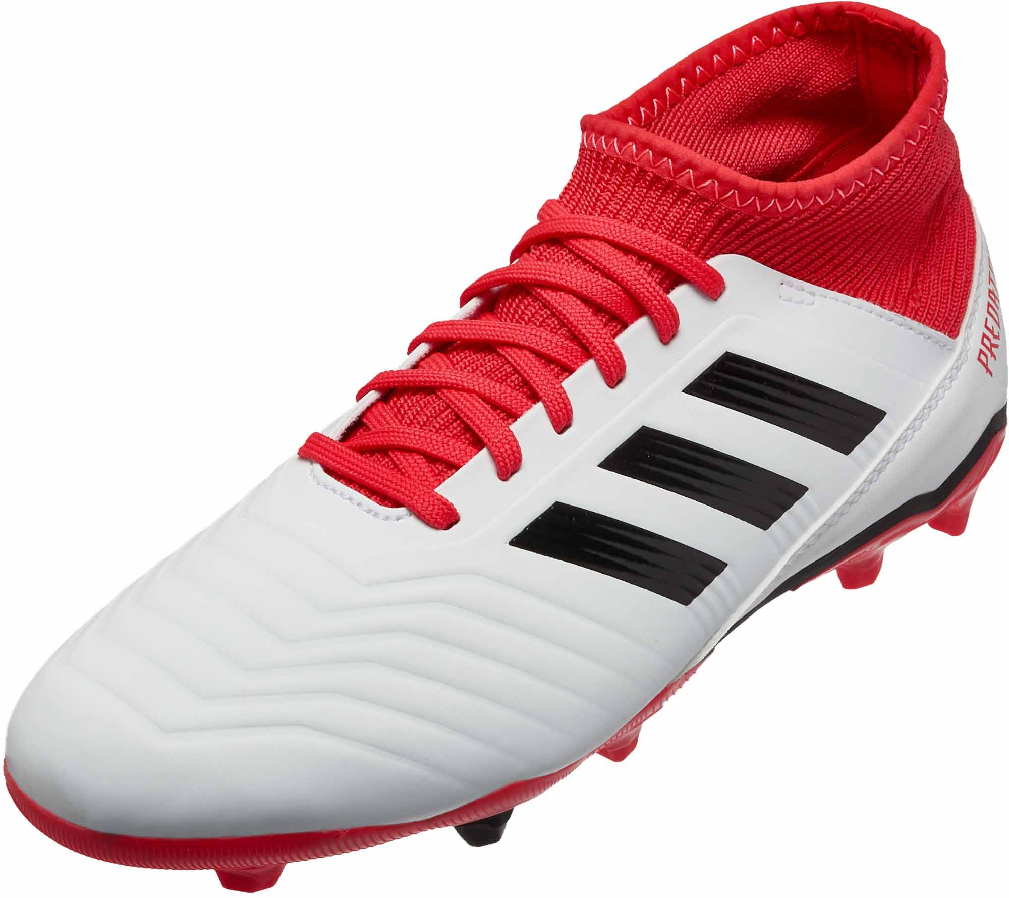 reputable site dfdd5 c6cff Kids adidas Predator 18.3 FG Soccer Cleats. Buy them at SoccerPro.
