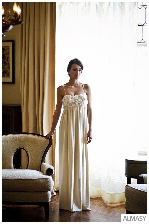 Eco Green Wedding Dress