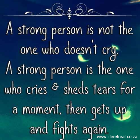 Inspirational Quote - How Strong Are You?