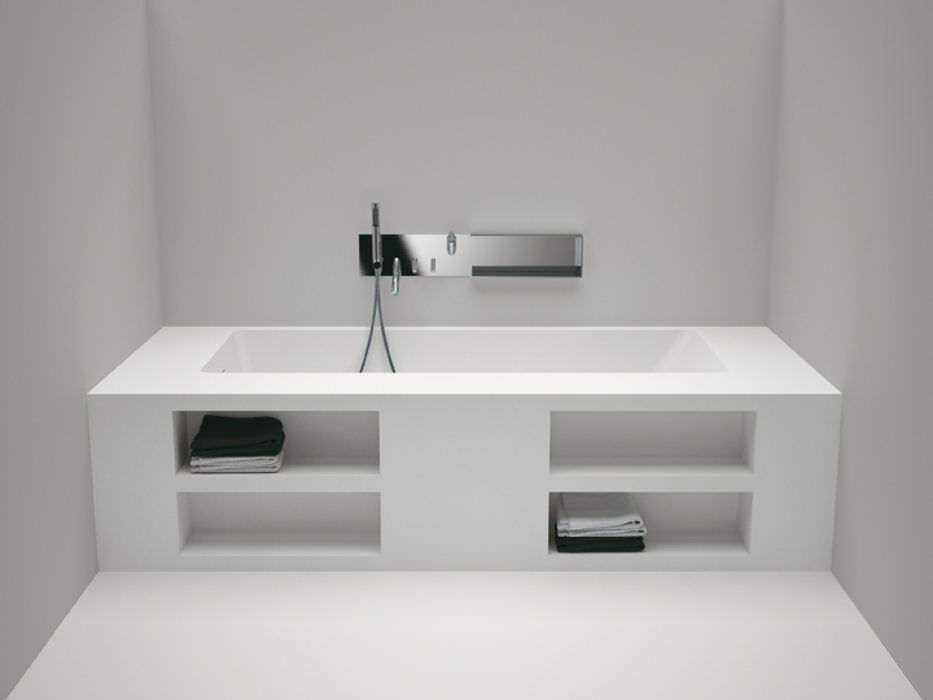 Aufsatz Badewanne Rechteckig Cartesio By Benedini Associati