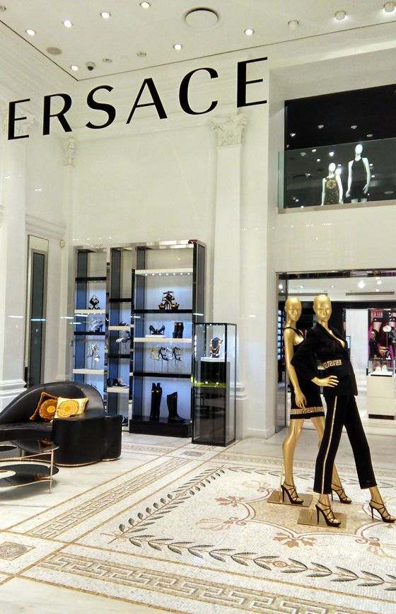 Versace Fifth Ave New York City My Dream Boutique In 2019