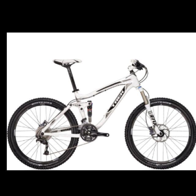 Trek Mountain Bike Snow White What I Want 2 800 Trek Mountain Bike Trek Bicycle Trek Bikes