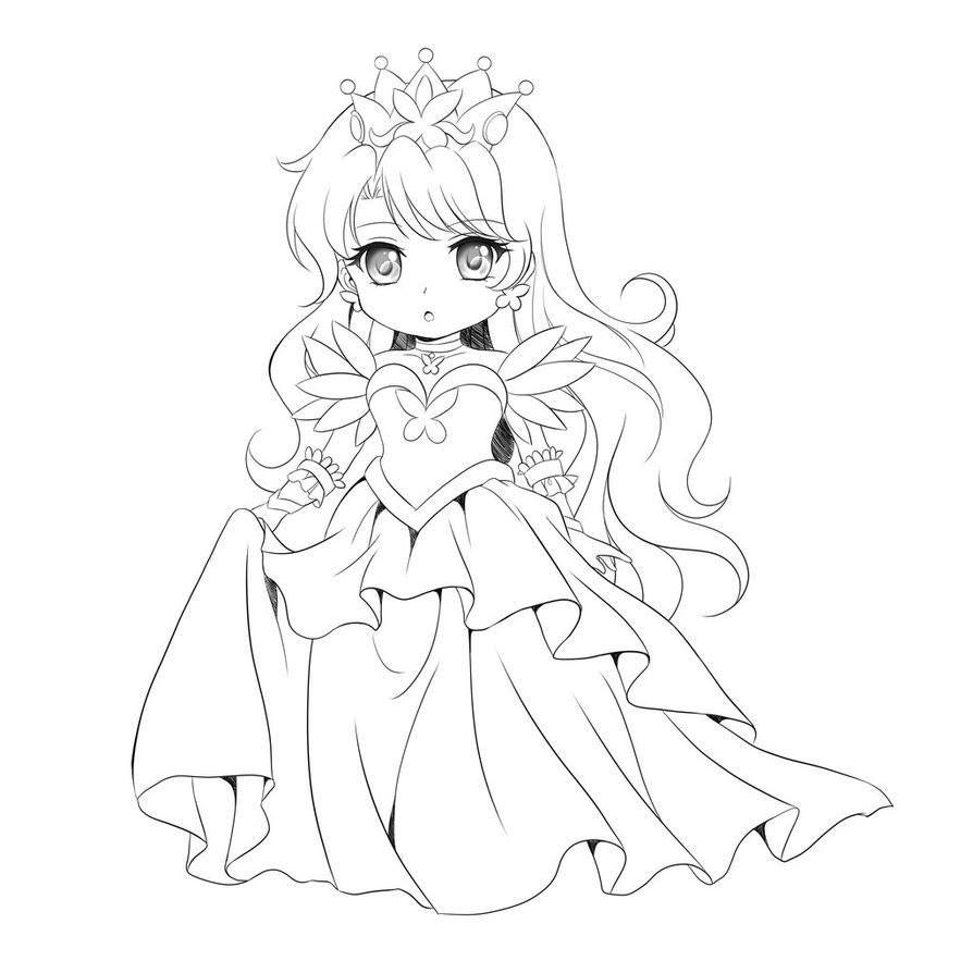 Pin von marjolaine grange auf coloriage chibi pinterest - Manga coloriage elfe ...