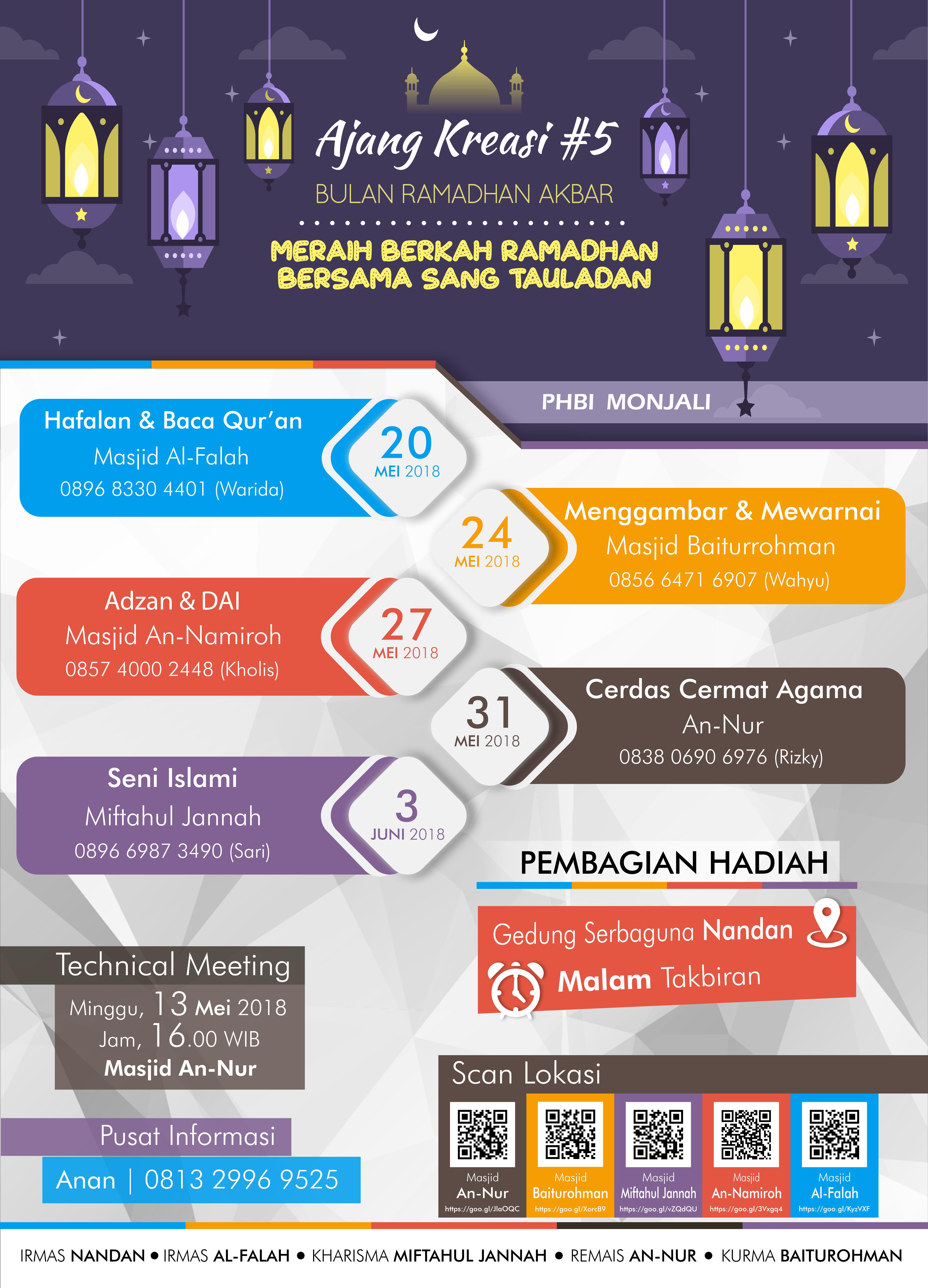 Lomba Desain Poster Ramadhan - Ada Lomba