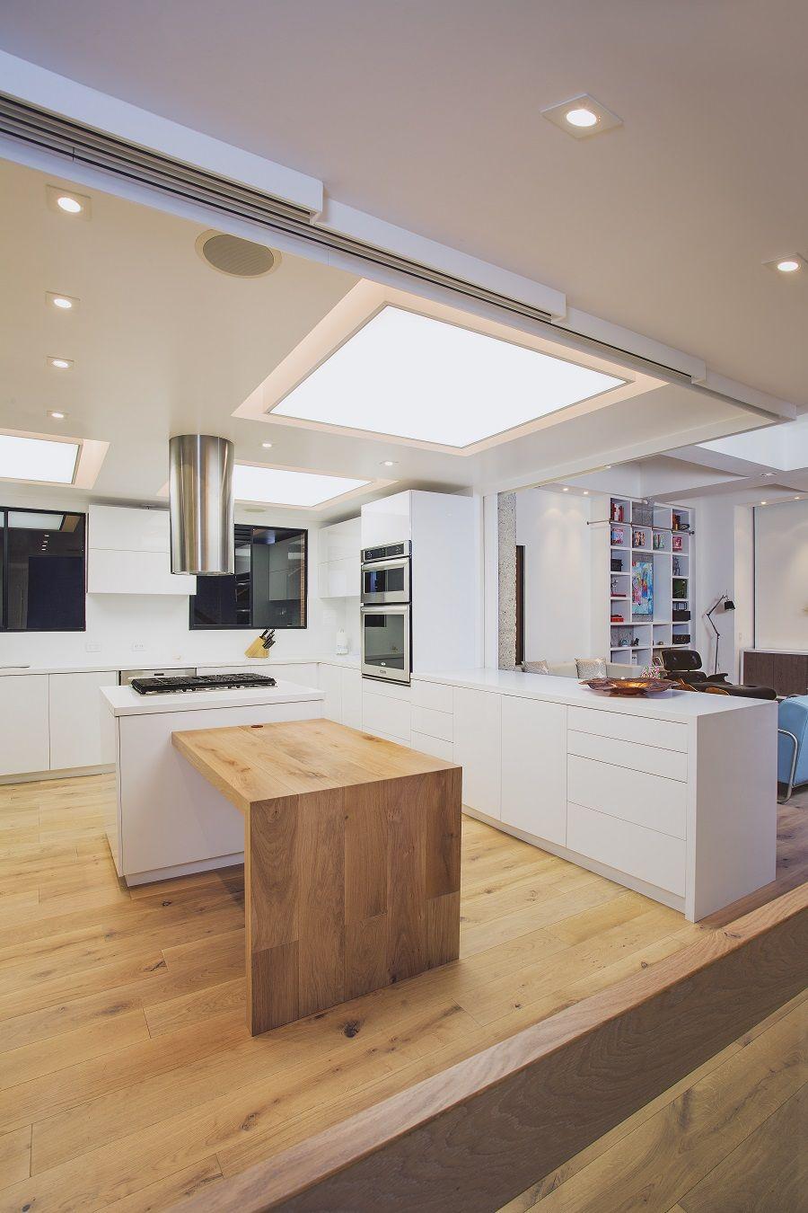 Cocina Iluminacion Cocina Techos Abovedados Galer A De Fotos  ~ Iluminacion Para Cocinas Techos