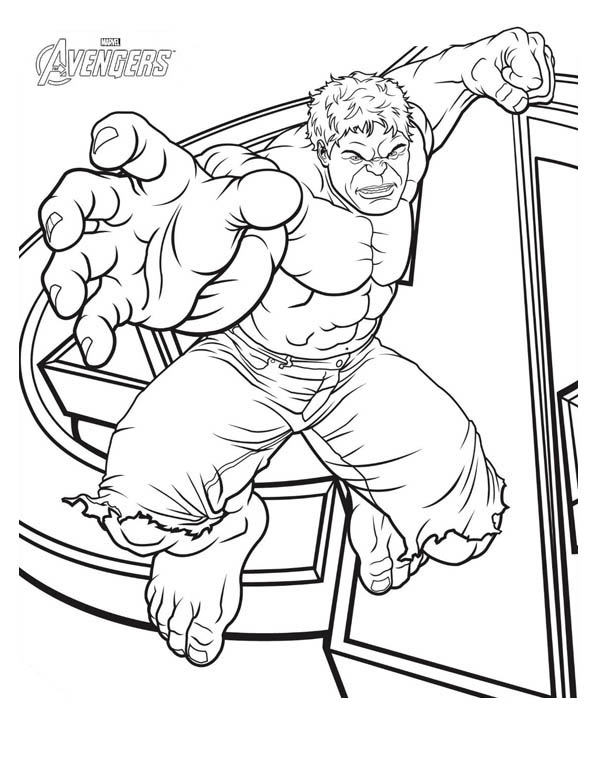The Avengers Character Hulk Coloring Page Download Print Online Coloring Pages For Free Superhero Coloring Pages Avengers Coloring Pages Avengers Coloring