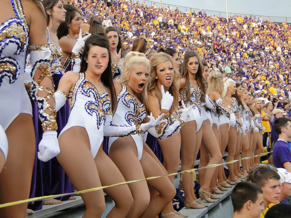 Photos of hot girl lsu cheerleaders