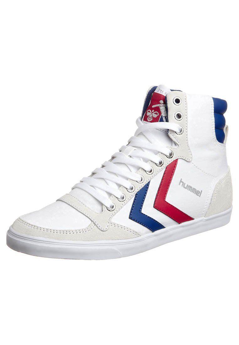 SLIMMER STADIL - Sneaker high - white/blue/red BJ9IP