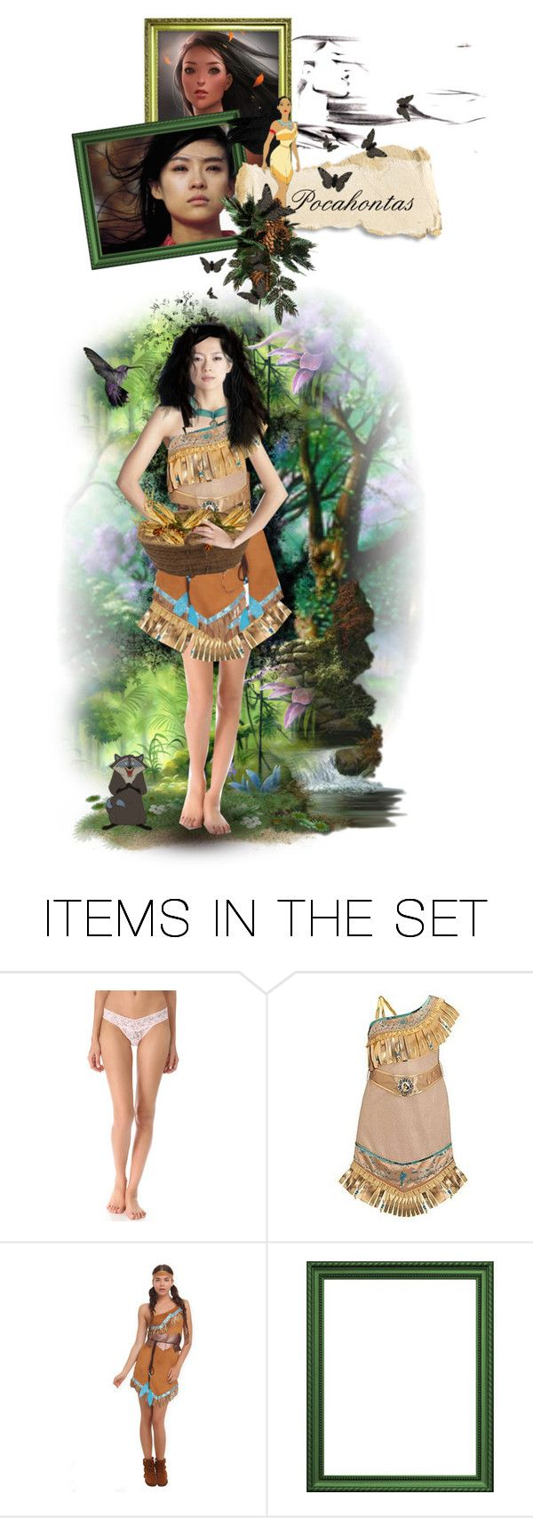 """""""Pocahontas"""" by chomiczynka ❤ liked on Polyvore featuring art"""