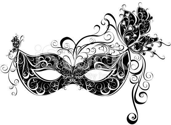 Masks For A Masquerade Vector Party Mask Mask Tattoo Carnival Masks Masquerade Tattoo
