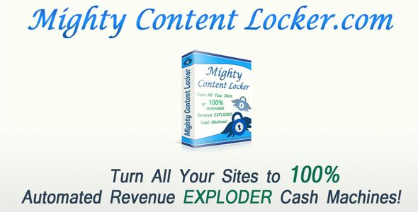 Mighty Content Locker v1 2 1 - Nulled Download For Free