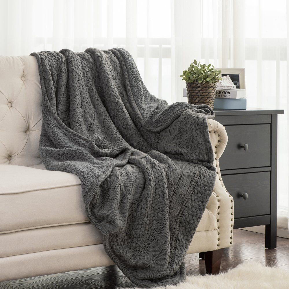 The Perfect Farmhouse Bed In 6 Simple Steps The Weathered Fox In 2020 Couch Throw Blanket Cozy Throw Blanket Sherpa Throw Blankets