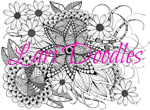 Adult Colouring Page, Instant Download, Downloadable PDF, Feathers