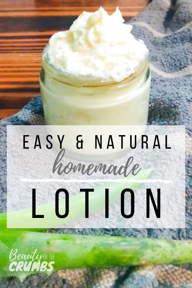 Non Greasy Homemade Lotion #homemadefacelotion