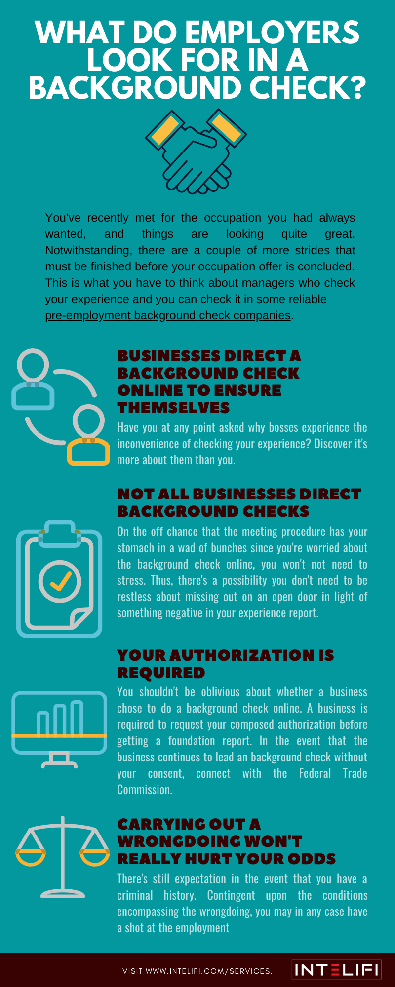 What Do Employers Look For In A Background Check Background Check Employment Background Check Employment