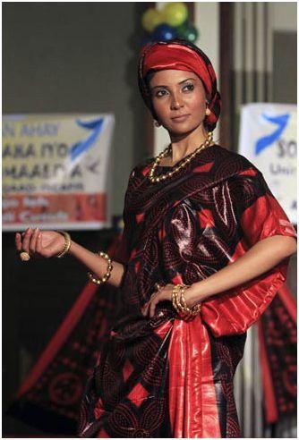 Somali shaash dress