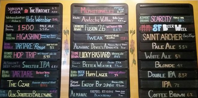 handwritten menu boards - Google Search Coffee Bar Pinterest - beer menu