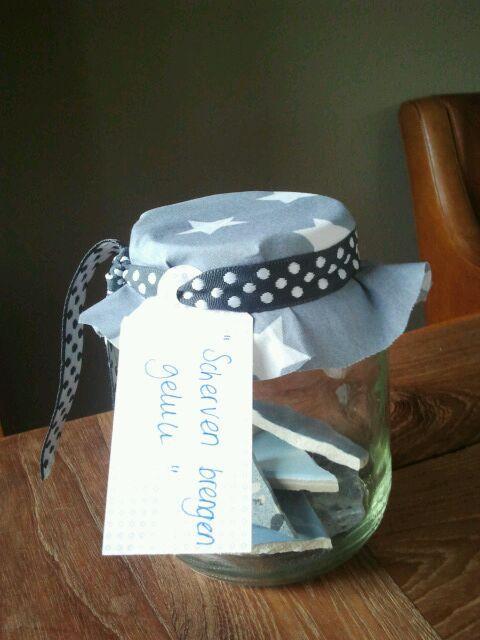 Scherven brengen geluk cadeau voor iemand die geen wensen for Geen cadeau voor verjaardag