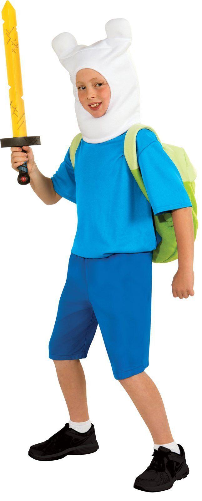 adventure time - finn deluxe teen costume | products | halloween