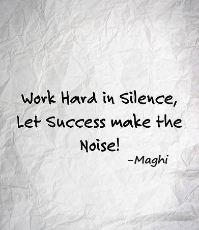 NOISE #success #work #hard #noise #life #mageswaran #maghi
