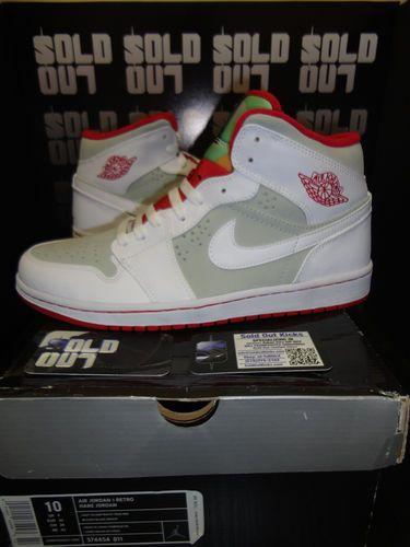sports shoes dcf8c f2f9e ... Nike Air Jordan 1 Retro HARE JORDAN Size 10 HI 374454-011 Rare, ...
