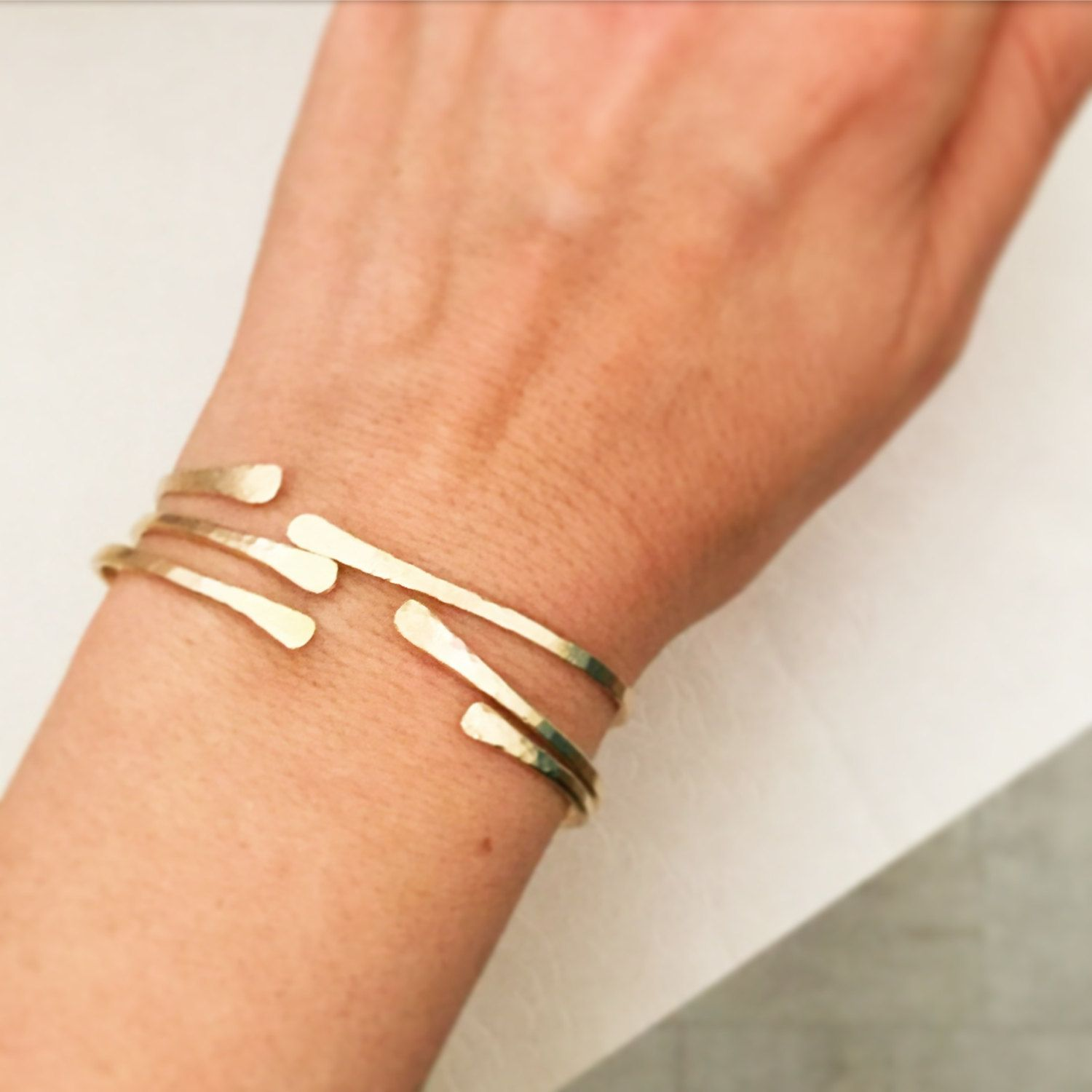 Gold bracelet set boho jewelry gold cuff bracelets open bangle