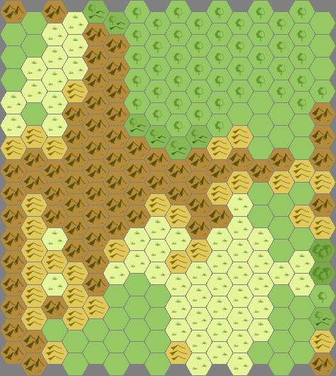 Wilderness Hex Map Generator Role Playing Games