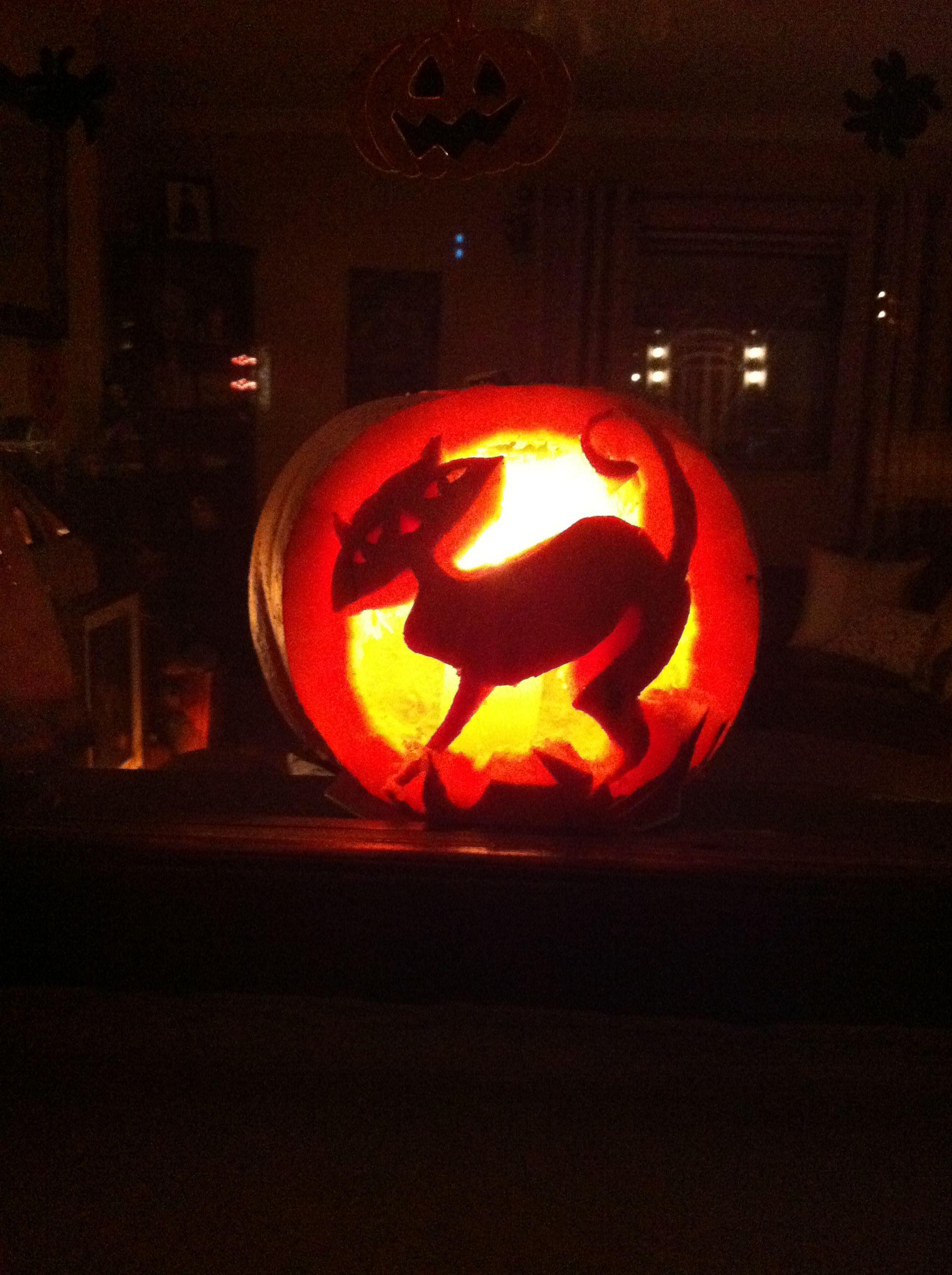 My Halloween pumpkin :) 2013