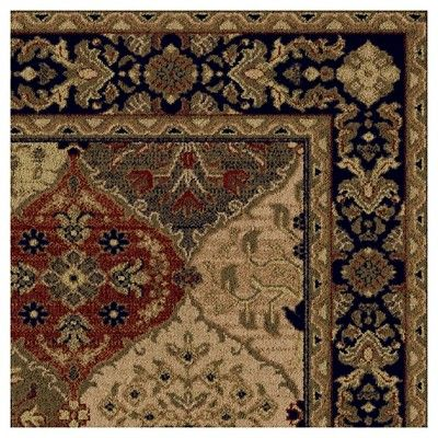 "Cathedral Merlot Rug - Multi-Colored - (7'10""X10'10"") - Orian,"