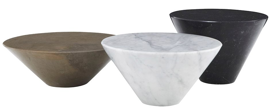 Conico Occasional Table Set By Ligne Roset Modern Coffee Tables Los Angeles