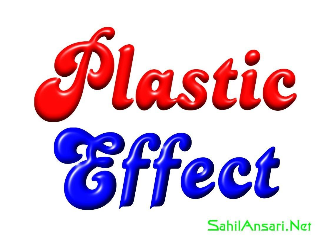 How to make plastic effect on text with coreldraw