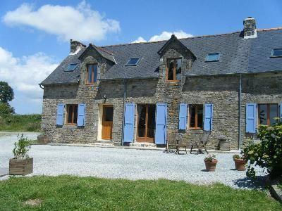 House In Plemet, Brittany, France Https://www.stopsleepgo.com