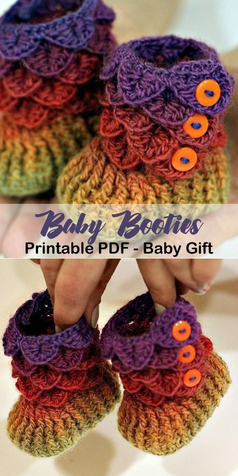 Make this adorable baby boots! Great baby gift. baby shoes crochet patterns - baby gift - crochet pattern pdf - amorecraftylife.com #affiliate #crochetbabyboots