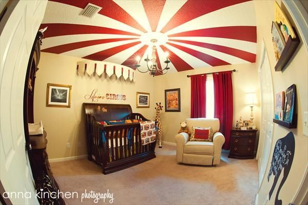 Circus Themed Nursery Idea Nursery Baby Room Ideas Baby Room Circus Baby  Room Decor Nursery Ideas Good Looking