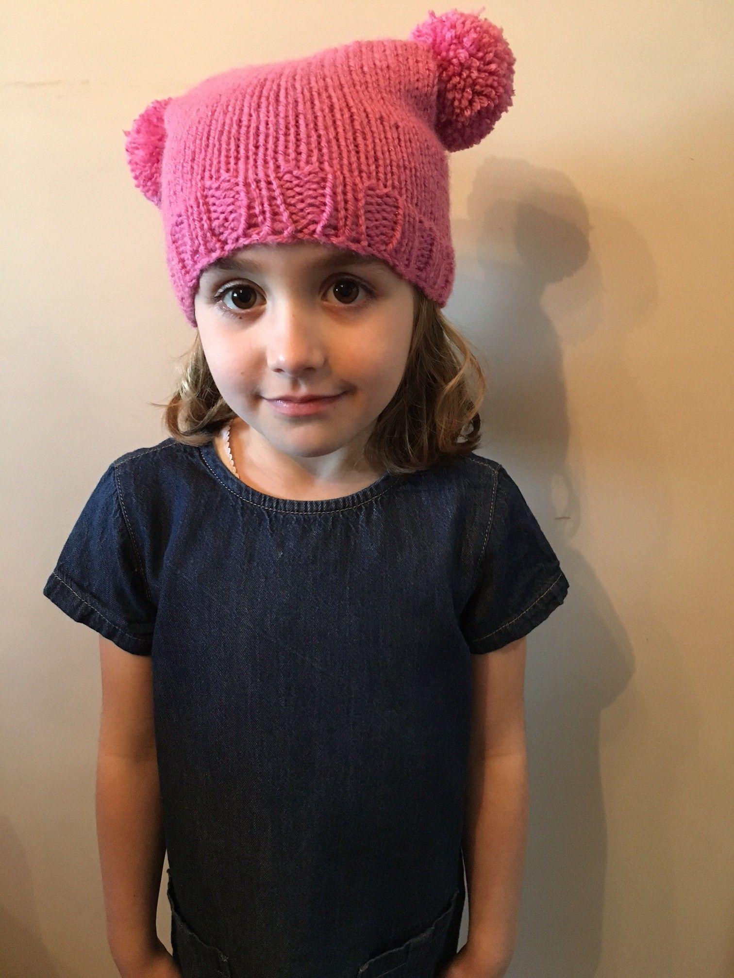 Cygnet Yarns Chunky Gems Teabag Hat Free easy kids knitting pattern ...