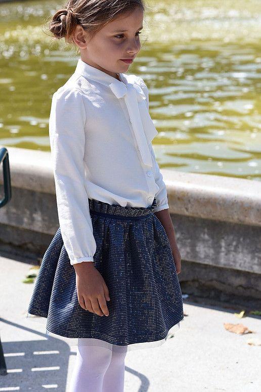 Os presento a Petite Bergamote moda elegante para niñas. Marca de Paris con  ropa para niñas hasta los 8 años b659fd65ba26