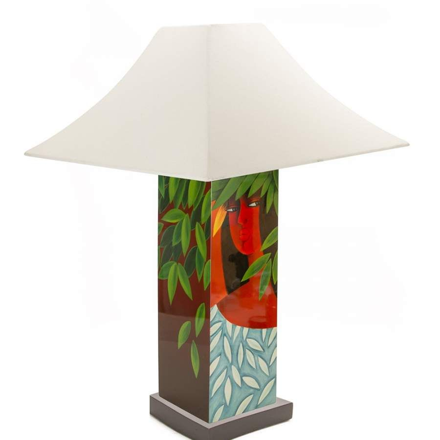 Tim nguyen hawaiian girl table lamp hand made hawaiian koa wood tim nguyen hawaiian girl table lamp hand made hawaiian koa wood art deco slab table lamp mozeypictures Images