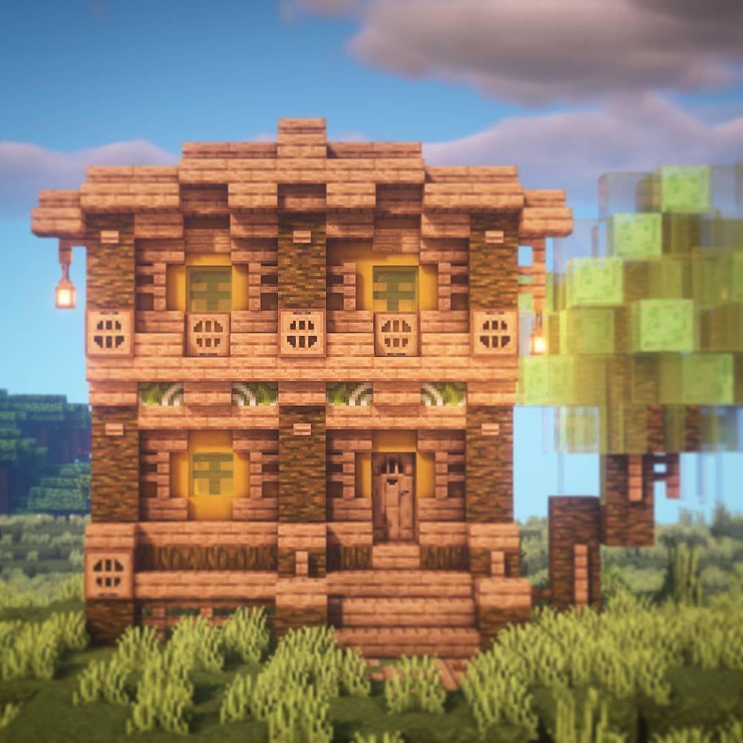 "Goldrobin - Minecraft Builder on Instagram: ""A jungle fantasy"