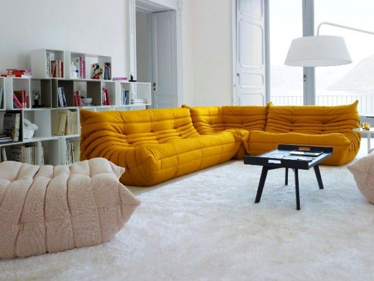 Togo sectional sofa by roset italia design michel ducaroy for Canape ligne roset
