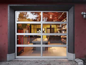 Garage Conversions For People Not Cars Garage Doors Glass Garage Door Industrial Home Offices