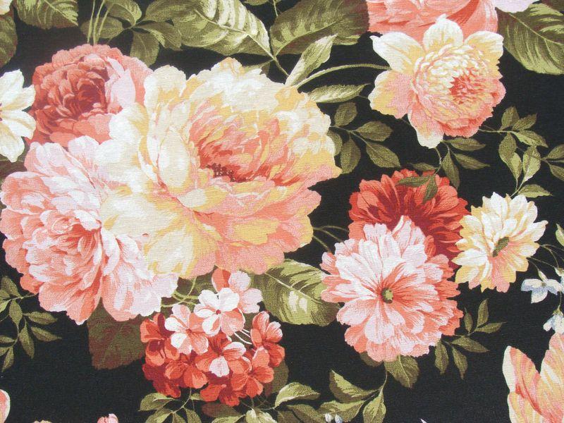 rosen stoff vintage stoff deko stoff gardinen von leho textil 2009 auf pssst. Black Bedroom Furniture Sets. Home Design Ideas