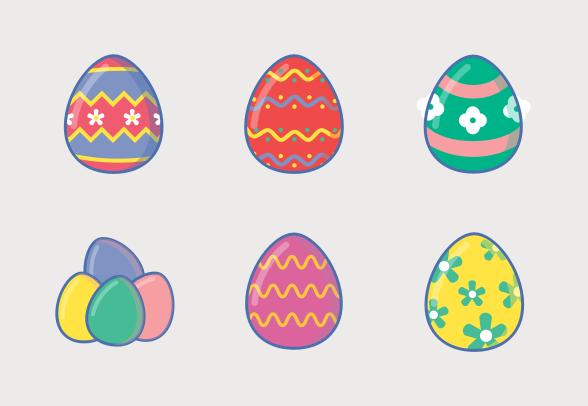 Easter Egg Celebration Icons By Ahmad Amin Fahmi Ramli Easter Eggs Easter Fashion Easter