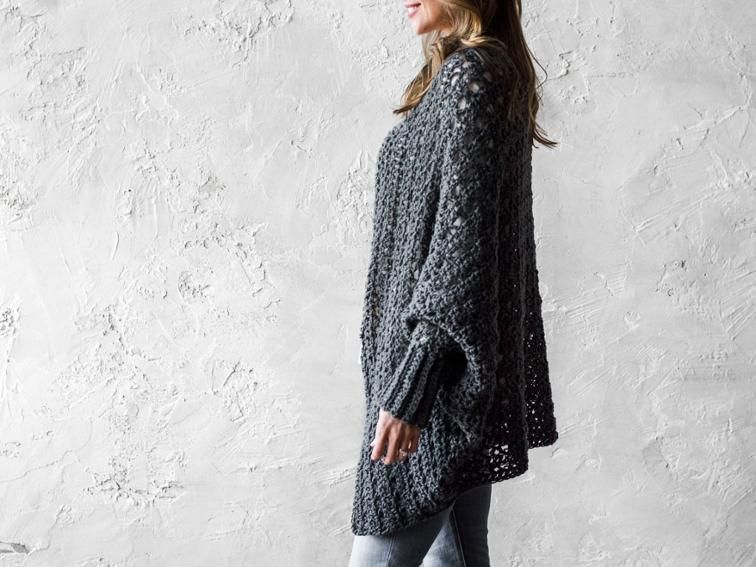 Carleton Cocoon Sweater Crochet Kit Shawl Crochet And Crochet Clothes