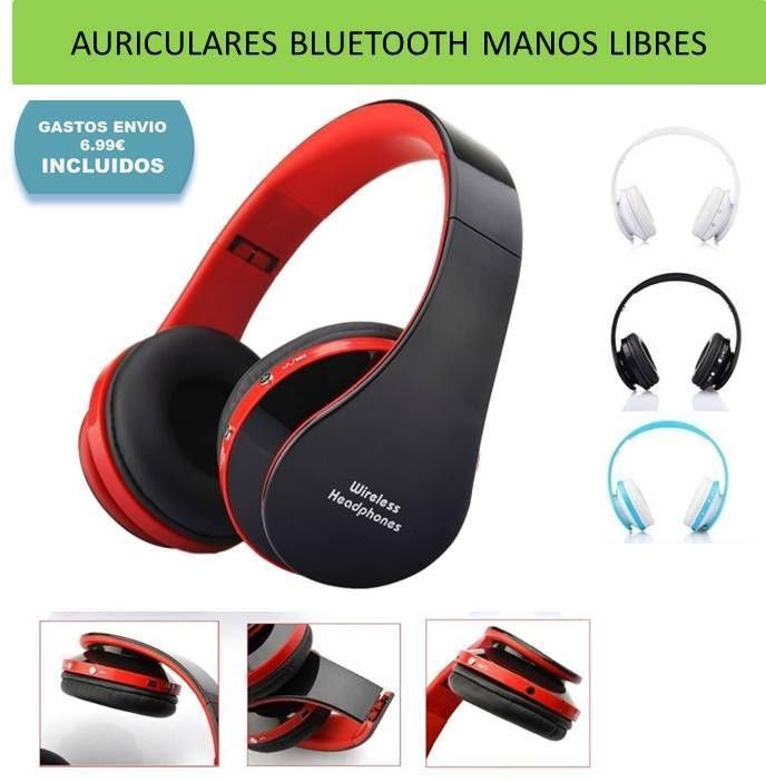 Auriculares Bluetooth Auriculares Sonido · Electrónica · El