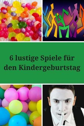 6 lustige spiele f r den kindergeburtstag kid activities. Black Bedroom Furniture Sets. Home Design Ideas