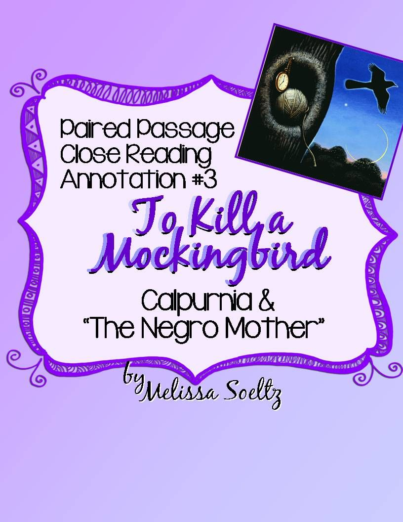 Pin on Teaching To Kill a Mockingbird
