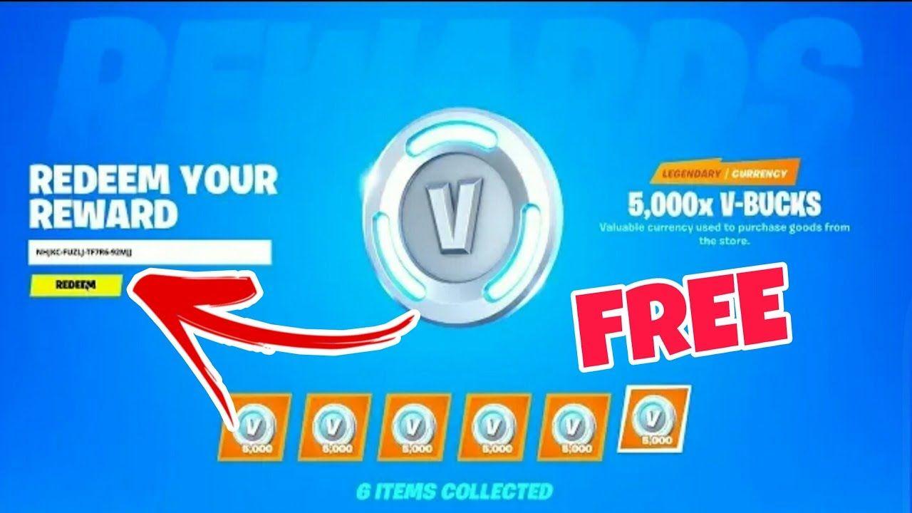 Free V Bucks Codes In 2021 Fortnite Bucks Online Coding