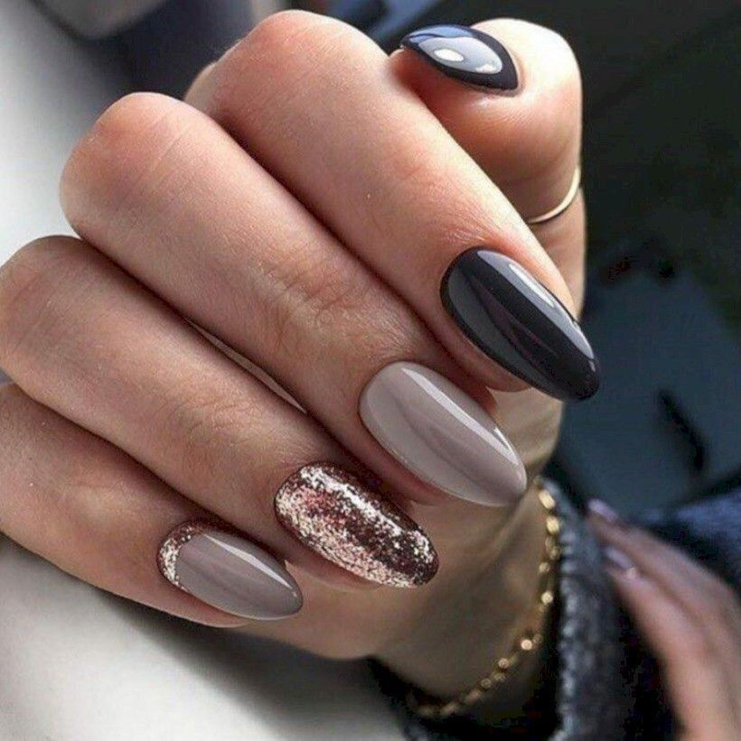 Cute Winter Nails Art Design Ideas 40 , looksglam.com