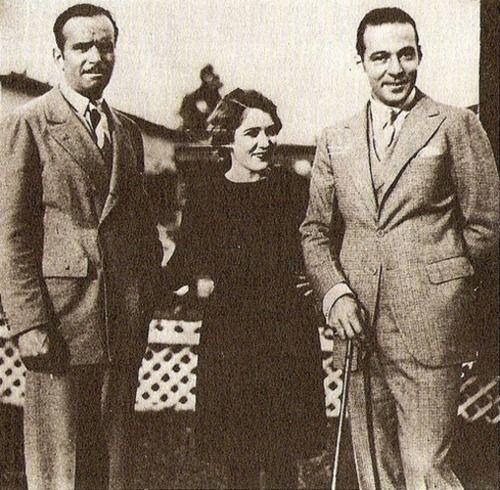 Douglas Fairbanks Mary Pickford And Rudolph Valentino
