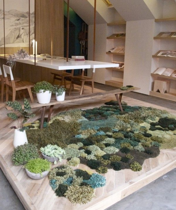 mossy rag rugs, pasture land, argentina, design squish blog